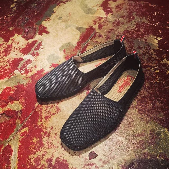 CASTANER メッシュタイプ エスパドリーユ先日掲載のカラー違いブラック。#castaner #カスタニエール #mood #セレクトショップ #宇都宮 #栃木 #通販 #エスパドリーユ #スリッポン #shoes #シューズ #靴 #fashion #ファッション #ファッションアイテム #instacool #instafashion #instagood - from Instagram