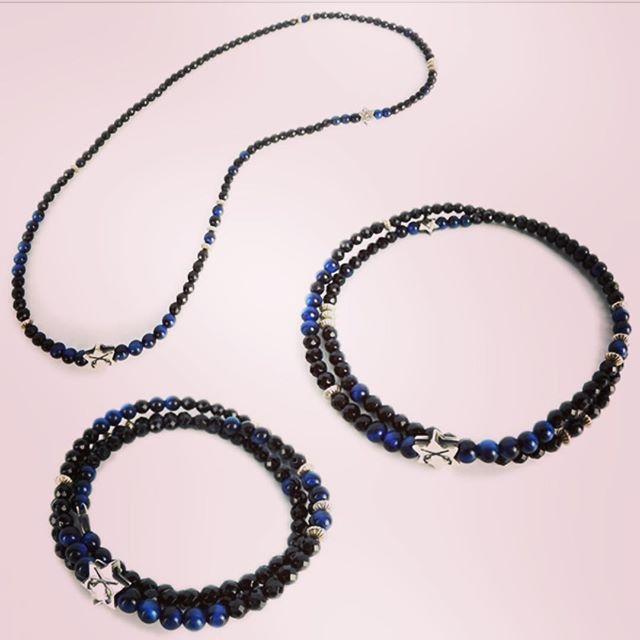 roar NATURAL STONE 3way ACCESSORIESロアーのブレスレット、アンクレット、ネックレスの3種類の使い方ができるナチュラルストーンアクセサリー。オニキス、ブルータイガーアイ。#roar #ロアー #mood #alleycompany #alleyonlineshop #accessories #accessory #bracelet #anklet #necklace #ブレスレット #アンクレット #ネックレス #アクセサリー #fashion #fashiongram #ファッション #メンズファッション #ファッションアイテム #instafashion #instagood #instalike #instacool #セレクトショップ #宇都宮 #栃木 #通販サイト #通販 #新作 #r_fashion - from Instagram