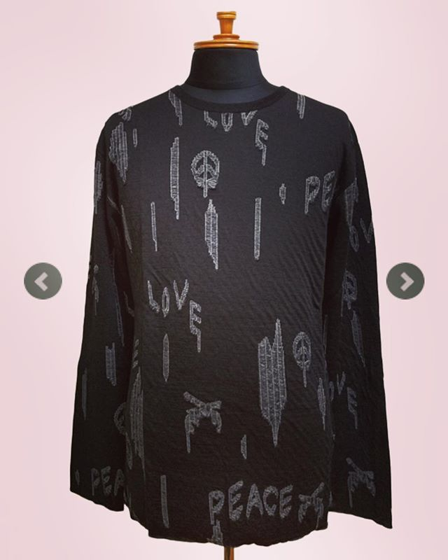 roar ロアー ジャガード長袖Tシャツ ブラックxグレー DOUBLE CLOTH JACQUARD 17FRT-02 #roar #ロアー #mood #alleycompany #alleyonlineshop #fashion #fashiongram #mensfashion #knit #ニット #メンズファッション #ファッション #ファッション通販 #instafashion #お洒落な人と繋がりたい #お洒落さんと繋がりたい #おしゃれな人と繋がりたい #おしゃれさんと繋がりたい #栃木 #宇都宮 #セレクトショップ #通販