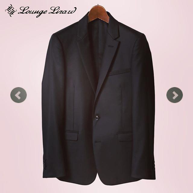 LOUNGE LIZARD ラウンジリザード テーラード2Bジャケット ブラック CANONICO×STRETCH 2B JACKET 5669#loungelizard #ラウンジリザード #mood #alleycompany #alleyonlineshop #jacket #suit #ジャケット #スーツ #fashion #instafashion #ファッション #mensfashion #メンズファッション #栃木 #宇都宮 #セレクトショップ #通販 #おしゃれさんと繋がりたい #お洒落な人と繋がりたい #お洒落さんと繋がりたい