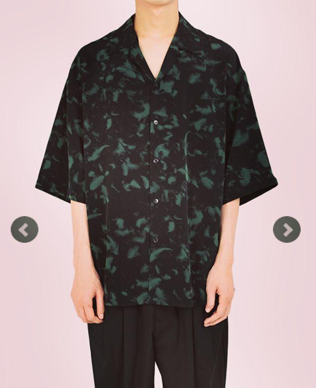 LAD MUSICIAN ラッドミュージシャン オープンカラービッグシャツ ブラックxグリーン OPEN COLLAR BIG SHIRT 2318-114@alleyonlineshop ショップサイトと記事チェックはコチラ#ladmusician #ラッドミュージシャン #shirt #シャツ #ビッグシャツ #半袖シャツ #オープンカラーシャツ #開襟シャツ #fashion #fashiongram #instafashion #mensfashion #ファッション #メンズファッション #通販 #セレクトショップ #宇都宮 #栃木 #alleyonlineshop #alleycompany #mood #streetfashion #streetwear #streetstyle #お洒落な人と繋がりたい #おしゃれさんと繋がりたい #お洒落さんと繋がりたい #お洒落好きな人と繋がりたい #夏物 #新作
