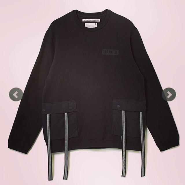 White Mountaineering ホワイトマウンテニアリング ビッグスウェットシャツ ブラック BIG POCKET SWEATSHIRT WM1873519 **#whitemountaineering #ホワイトマウンテニアリング #スウェット #ビッグスウェット #fashion #fashiongram #mensfashion #instafashion #ファッション #メンズファッション #セレクトショップ #オンラインショップ #ネットショップ #通販サイト #ファッション通販 #ストリートファッション #alleycompany #alleyonlineshop #おしゃれさんと繋がりたい #お洒落さんと繋がりたい #おしゃれな人と繋がりたい #お洒落好きな人と繋がりたい