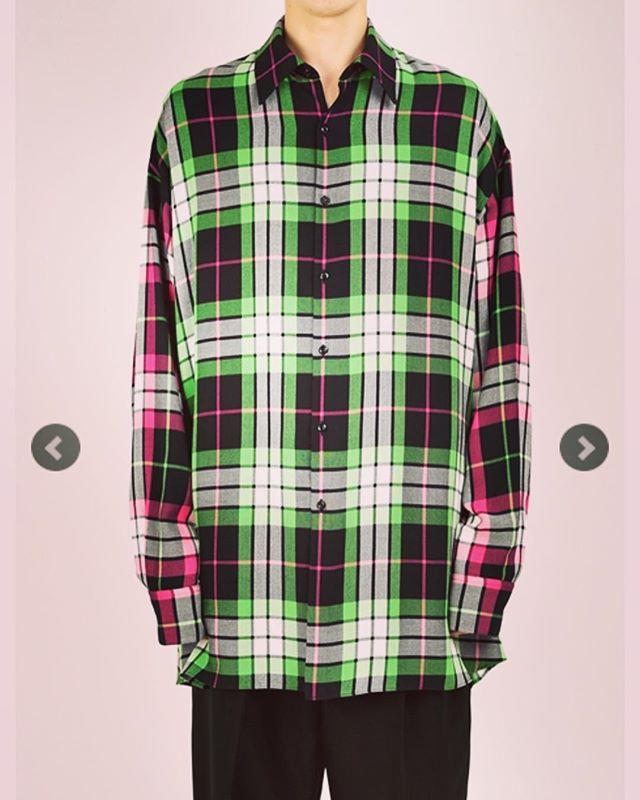 LAD MUSICIAN ラッドミュージシャン スーパービッグチェックシャツ グリーン×ピンク MODAL BIG CHECK SUPER BIG SHIRT 2119-122 ○○#ladmusician #ラッドミュージシャン #シャツ #ビッグシャツ #shirts #fashion #fashiongram #mensfashion #instafashion #メンズファッション #ファッション #ストリートファッション #アウトドアファッション #セレクトショップ #オンラインショップ #ネットショップ #通販 #ファッション通販 #alleycompany #alleyonlineshop #おしゃれさんと繋がりたい #お洒落さんと繋がりたい #おしゃれな人と繋がりたい