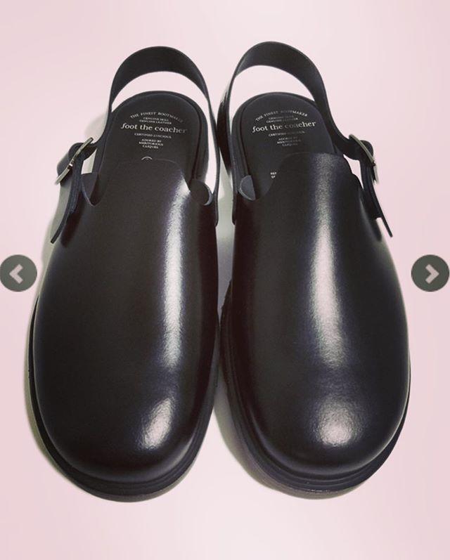 foot the coacher フットザコーチャー サンダル ブラック SS SANDALS FTC1712004