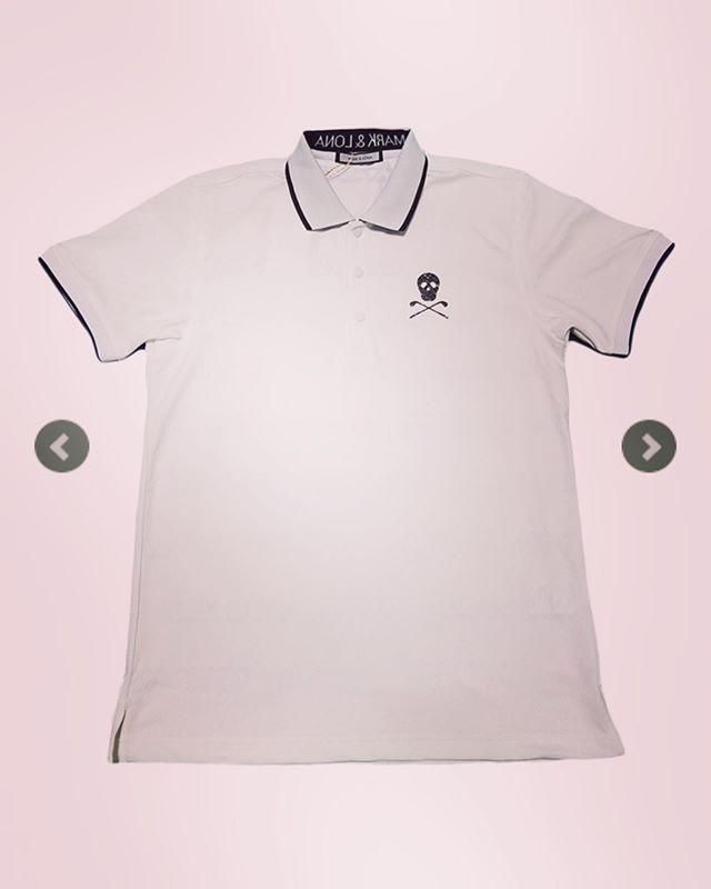 メッセージとロゴのジャガード織りとエリのロゴ、胸や脇のスカルとぬかり無し! ○○MARK&LONA マークアンドロナ ポロシャツ Speck Polo | MEN MLM-9A-AP09 ○○#markandlona #マークアンドロナ #ゴルフ #ゴルフウェア #ゴルフファッション #golfwear #golf #poloshirt #ポロシャツ #スカル #通販サイト #通販 #セレクトショップ #オンラインショップ #ネットショップ #fashion #fashiongram #mensfashion #instafashion #ファッション #メンズファッション #ゴルフ好きな人と繋がりたい #ゴルフ男子 #ゴルフ好き #alleycompany #alleyonlineshop