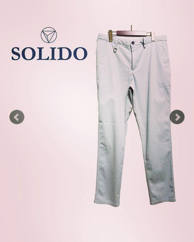 SOLIDO ソリード 製品染めスラックスパンツ テーパード ライトグレー MSL19S5485 / メンズ カジュアル