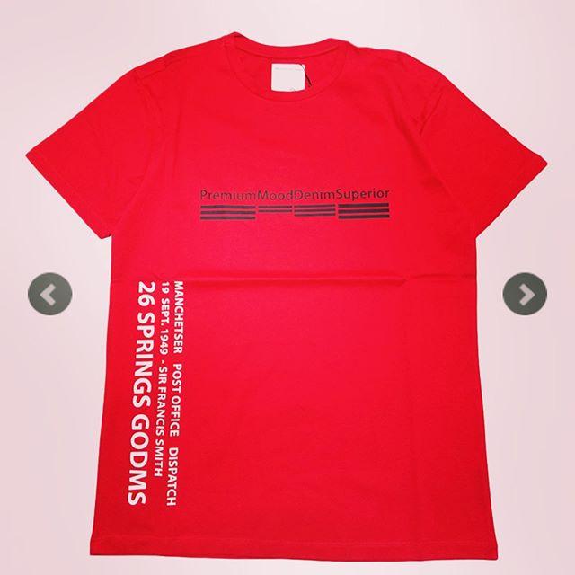 P.M.D.S. ピーエムディーエス Tシャツ レッド 910591384029 POST/675TSO / PMDS ○○#pmds #ピーエムディーエス #tシャツ #tshirt #tshirts #alleycompany #alleyonlineshop #ファッション通販 #セレクトショップ