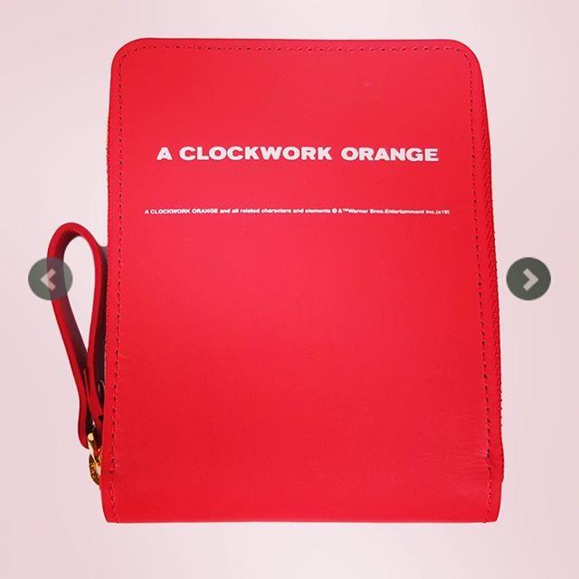 UNDERCOVER アンダーカバー ZIP財布 CLOCKWORK ORANGE レッド UCX4C01-1 /サイフ