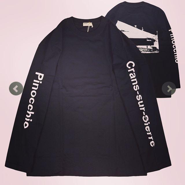 NAISSANCE ネサーンス 長袖Tシャツ ブラック GRAPHIC LONG SLEEVE T-SHIRT 19A-NSA-CS-11