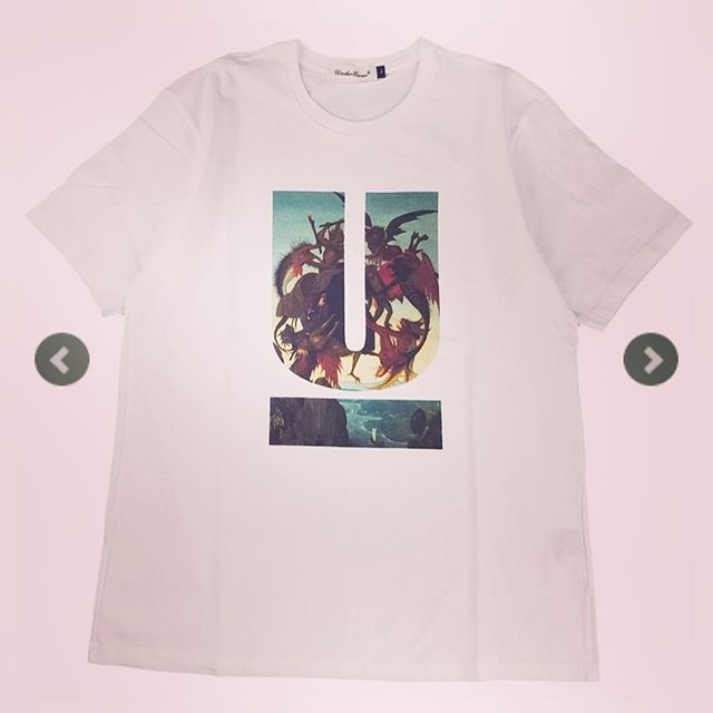 UNDERCOVER アンダーカバー TEE U St Anthony ホワイト UCX3802 /Tシャツ