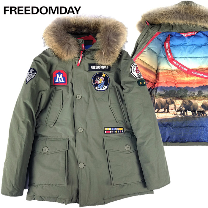 FREEDOMDAY/フリーダムデイ ダウンジャケット