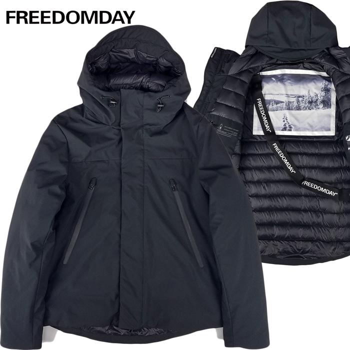 FREEDOMDAY/フリーダムデイダウンジャケットブラックレーベル