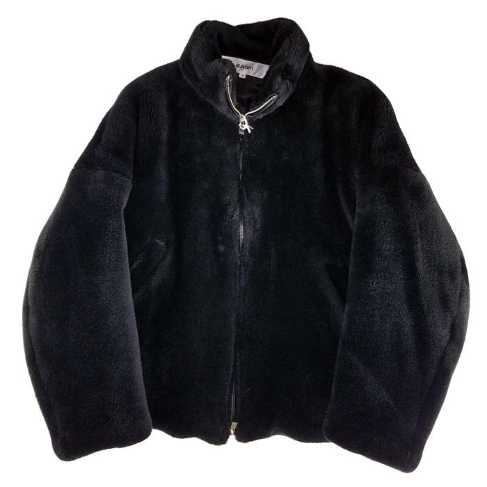 sulvam サルバム ファージャケット ブラック fur JKT SK-Y05-600