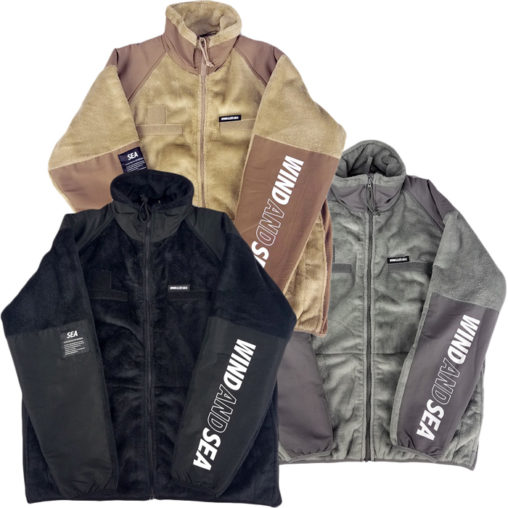 WIND AND SEA ウィンダンシー WDS MILITARY FLEECE JACKET ミリタリーフリースジャケット WDS-19A-JK-01