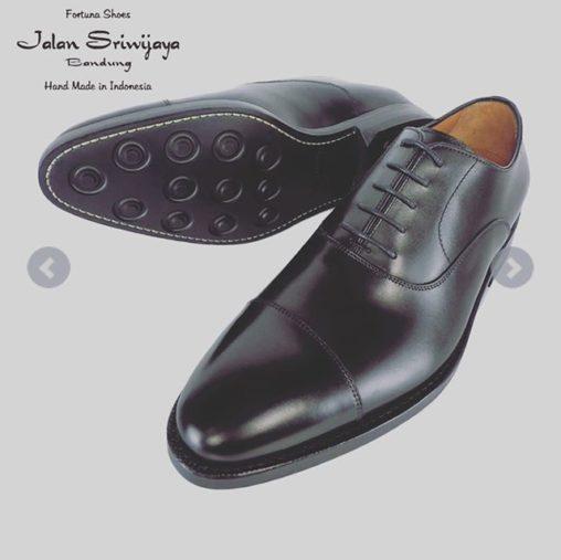 JALAN SRIWIJAYA ジャランスリウァヤ ストレートチップ 内羽根 バルモラルシューズ ダイナイトソール ブラック 98321 / ジャランスリワヤ ジャラン スリウァヤ