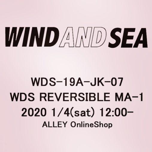 WIND AND SEA ウィンダンシー WDS REVERSIBLE MA-1 ブルゾン WDS-19A-JK-07