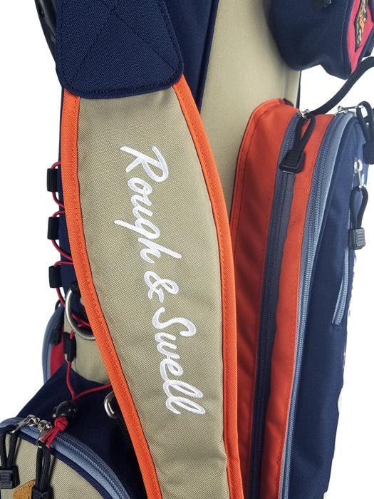 rough&swell ラフアンドスウェル キャディバッグ ベージュ M.Caddy YOSEMITE RSA-20001/ ラフ&スウェル ゴルフ-3