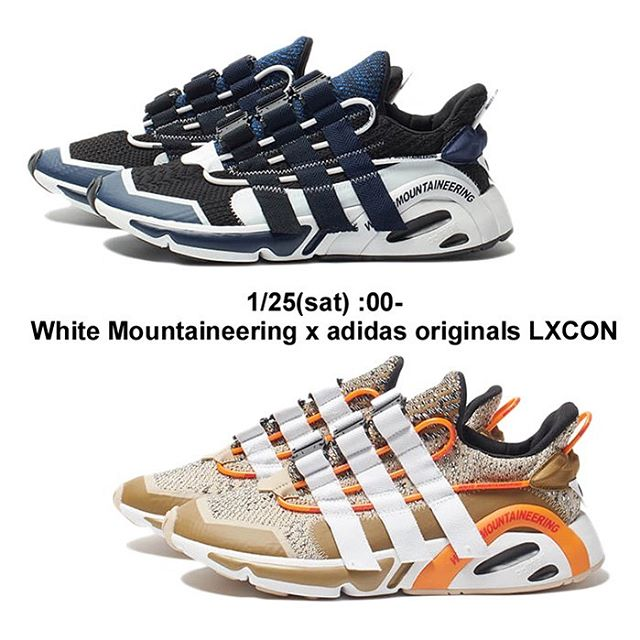 White Mountaineering x adidas originals LXCON スニーカー