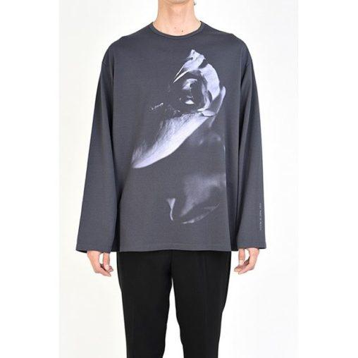 LAD MUSICIAN ラッドミュージシャン LONG SLEEVE BIG T-SHIRT 長袖ビッグTシャツ パープルグレー 2120-822 /ロンT