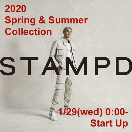 STAMPD スタンプド 2020 spring and summer