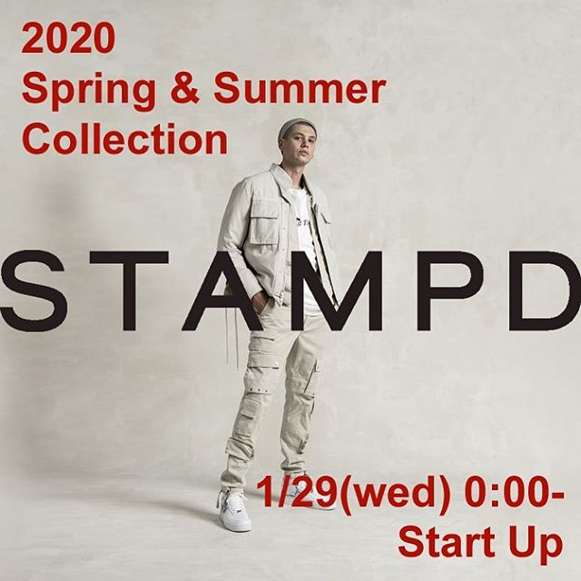 STAMPD スタンプド 2020 spring and summer