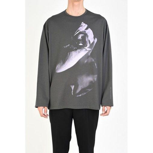 LAD MUSICIAN ラッドミュージシャン LONG SLEEVE BIG T-SHIRT 長袖ビッグTシャツ カーキ 2120-822 /ロンT