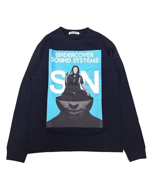 UNDERCOVER アンダーカバー LSTEE UC SOUNDSYSTEMS SN 長袖Tシャツ ブラック UCY4892-4 / ロンT