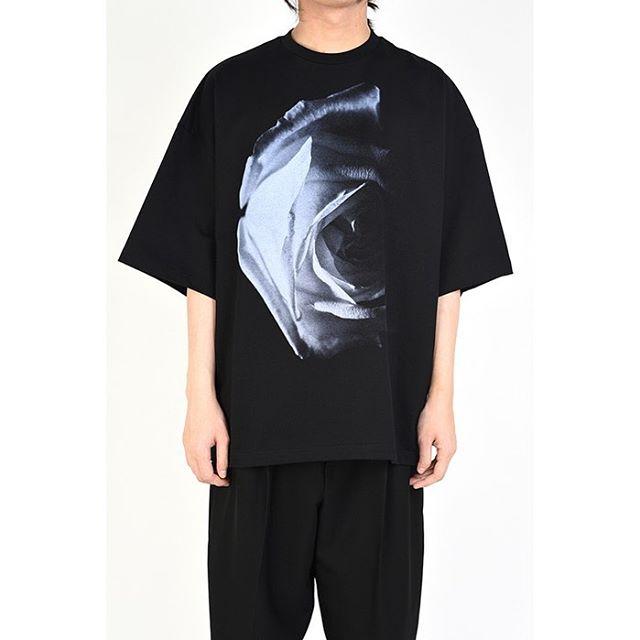 LAD MUSICIAN ラッドミュージシャン SUPER BIG T-SHIRT スーパービッグTシャツ ブラック 2120-833 / カットソー