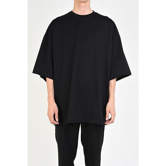 LAD MUSICIAN ラッドミュージシャン SUPER BIG T-SHIRT スーパービッグTシャツ ブラック 2120-710 / カットソー