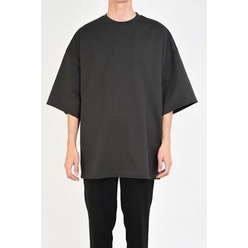 LAD MUSICIAN ラッドミュージシャン SUPER BIG T-SHIRT スーパービッグTシャツ ステルスカーキ 2120-710 / カットソー
