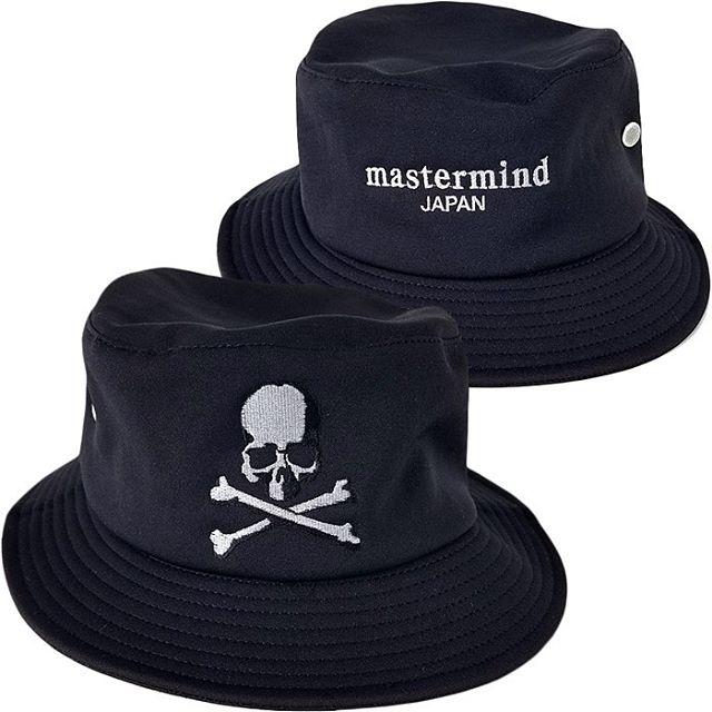 mastermind JAPAN マスターマインドジャパン バケットハット 刺繍 ブラック MJ20E04-HA002-601 / 帽子