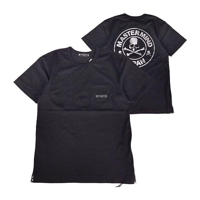 mastermind JAPAN マスターマインドジャパン 天竺 レギュラーフィット かすれ箔プリント ブラック MJ20E04-TS103-018 / Tシャツ