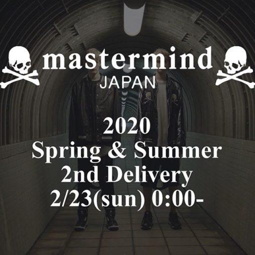 mastermindJAPAN/マスターマインドジャパン 20ss新作第2弾発売