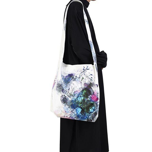 LAD MUSICIAN ラッドミュージシャン BAG FLOWER バッグ フラワー ホワイト 2120-931 / 花柄 フラワー