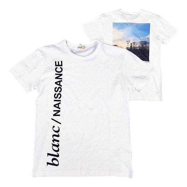 NAISSANCE ネサーンス PHOTO TEE (BACK) Tシャツ ホワイト 20S-NSA-CS-12