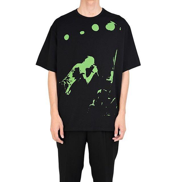 LAD MUSICIAN ラッドミュージシャン BIG T-SHIRT ビッグTシャツ ブラック 2120-806 / カットソー