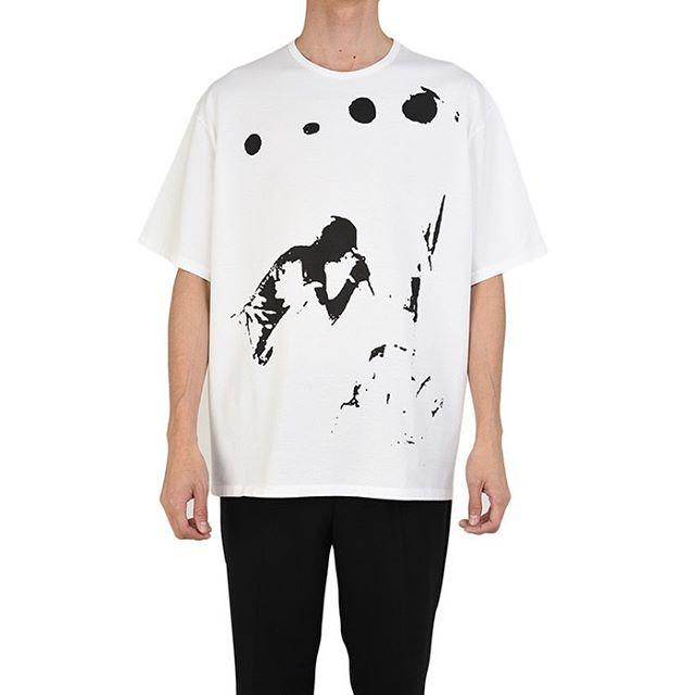 LAD MUSICIAN ラッドミュージシャン BIG T-SHIRT ビッグTシャツ ホワイト 2120-806 / カットソー
