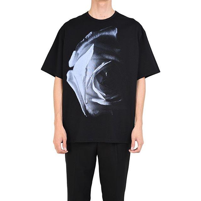 LAD MUSICIAN ラッドミュージシャン BIG T-SHIRT ビッグTシャツ ブラック 2120-803 / カットソー