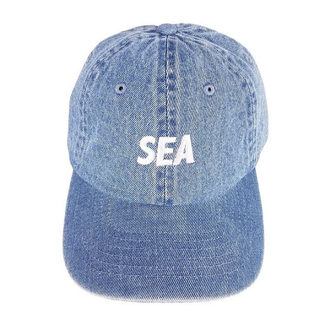 WIND AND SEA ウィンダンシー SEA DENIM CAP WDS-20S-GD-01 ブルー