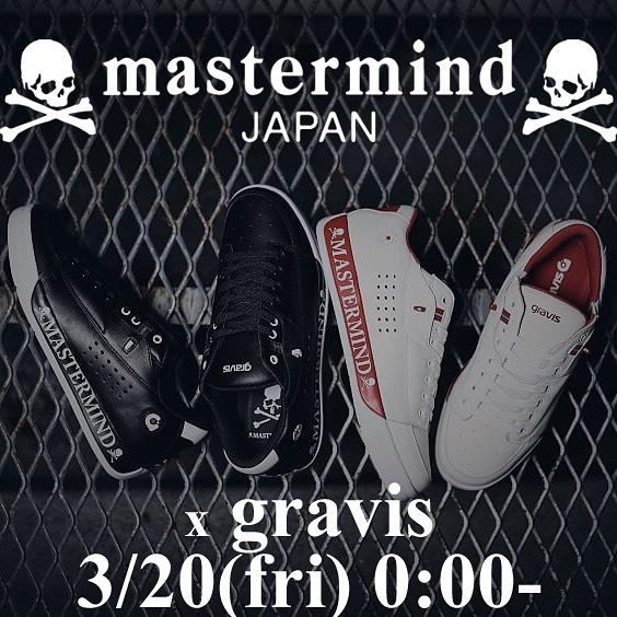 mastermind JAPAN マスターマインドジャパン × gravis コラボ スニーカー TARMAC MMJ MJ20C04-SN002 / シューズ