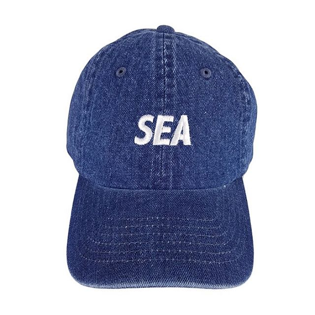 WIND AND SEA ウィンダンシー SEA DENIM CAP WDS-20S-GD-01 インディゴ