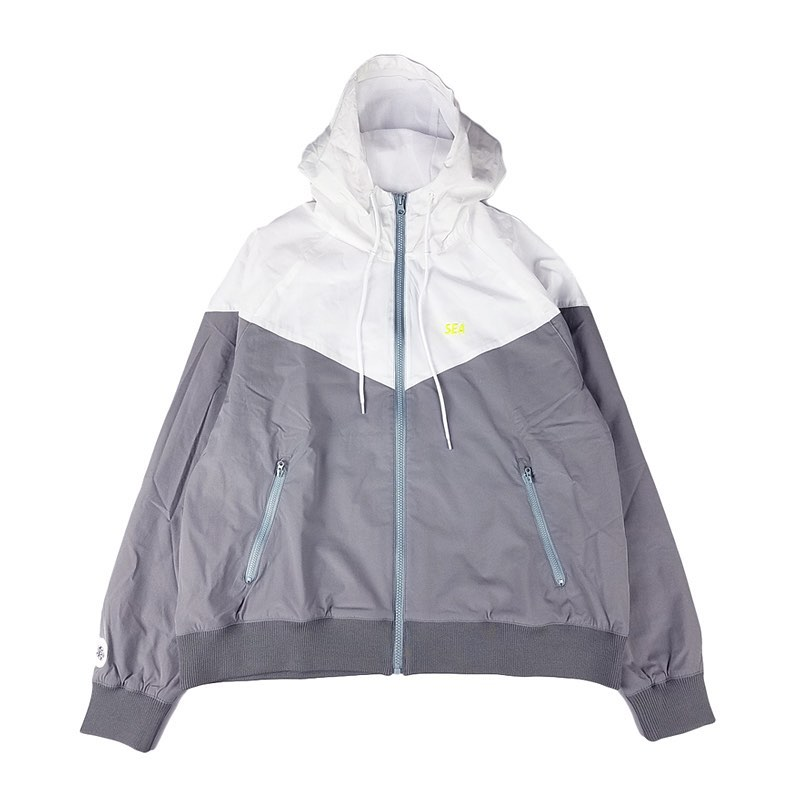 WIND AND SEA ウィンダンシー WDS HOODED ZIP-UP JACKET(TR) フードジップアップジャケット グレー WDS-20S-JK-05