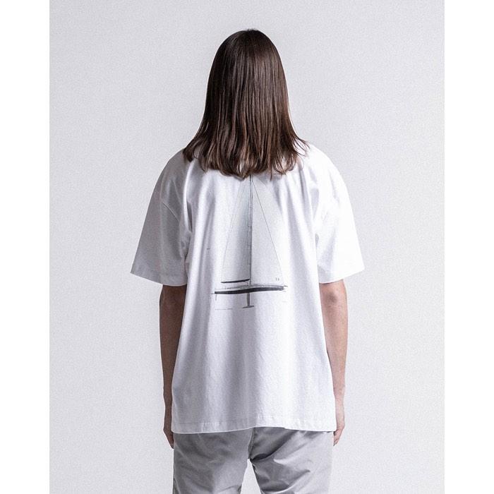 STAMPD スタンプド Sail Tee Tシャツ ホワイト S-M2189TE