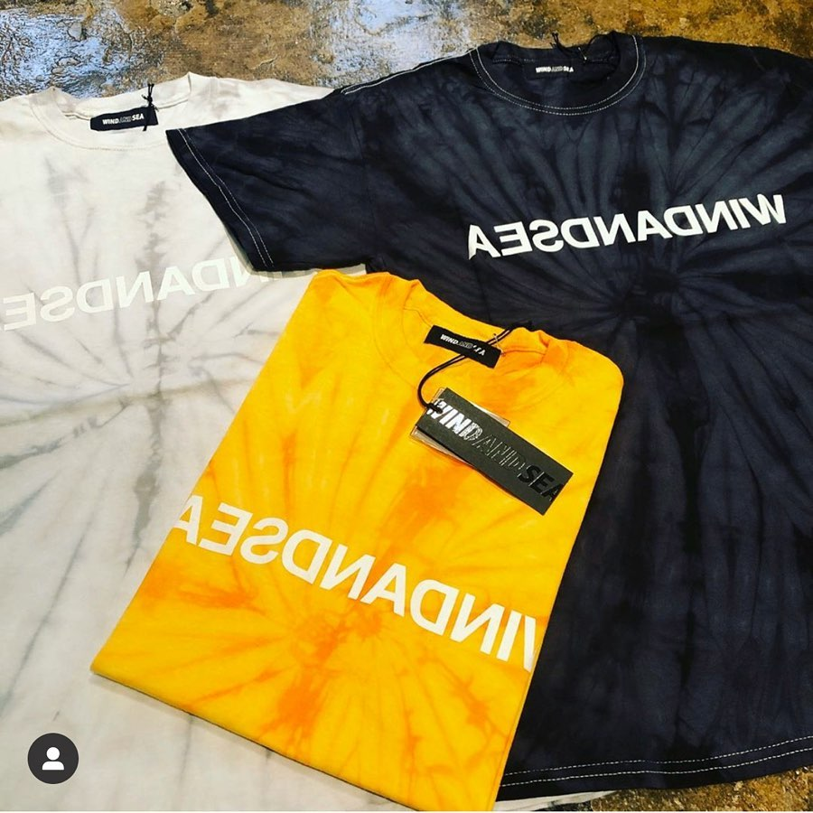 【4月11日土曜正午12時発売】WIND AND SEA WDS TIE-DYE TEE WDS-20S-CS-04 ・・ウィンダンシーの新作Tシャツが発売となります。 ・・発売時間まで商品ページは非公開になります。 ・・税込7,700円 ・・#windandsea #windandseawear #ウィンダンシー#tシャツ#tshirt#tshirts#タイダイ #タイダイ染め #タイダイtシャツ #mensfashion #メンズファッション #instafashion #fashionstagram #selectshop #セレクトショップ #オンラインショップ#ネットショップ#streetfashion #streetstyle #streetwear #ストリートファッション #通販サイト#ファッション通販 #ファッション通販サイト#正規取扱店 #正規品 #alleyonlineshop#alleycompany #mood