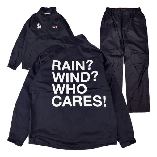 rough&swell ラフアンドスウェル WHO CARES RAIN SUIT レインスーツ ブラック RSM-20090 / ゴルフウェア