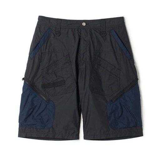 White Mountaineering ホワイトマウンテニアリング CARGO SHORT PANTS カーゴショートパンツ ブラック WM2071414 / パンツ