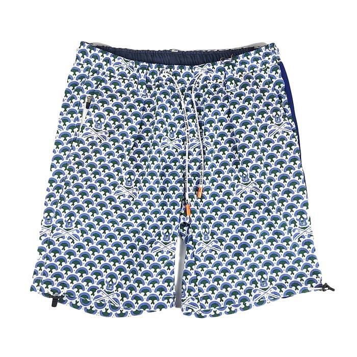 【木村拓哉さん着用モデル】MARK&LONA マークアンドロナ Osteo Scale Shorts | MEN ショートパンツ ブルー MLM-0A-AT16