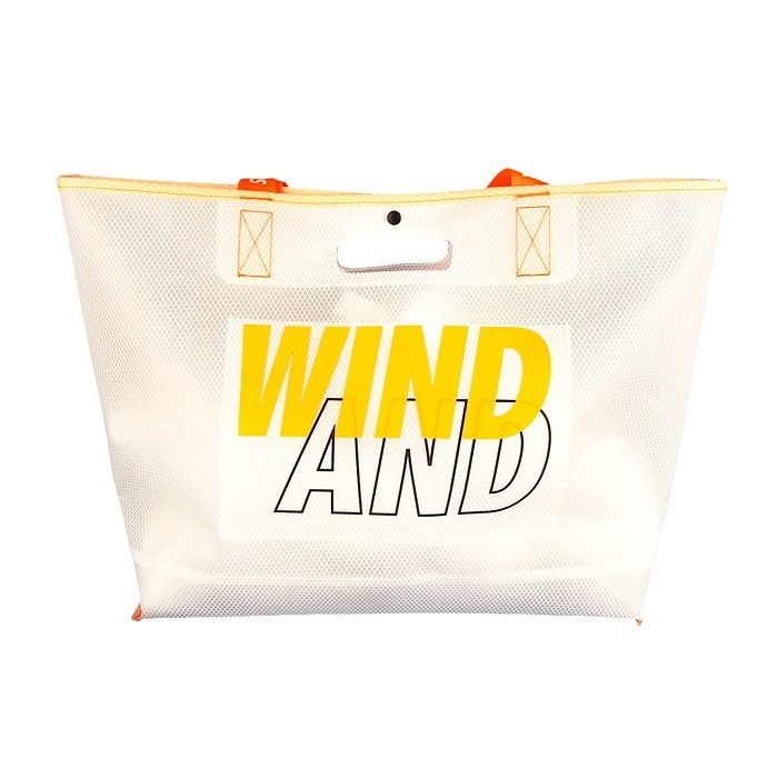 WIND AND SEA ウィンダンシー WDSxWEEKEND(ER) TEX toto bag オレンジ WDS-20S-GD-12