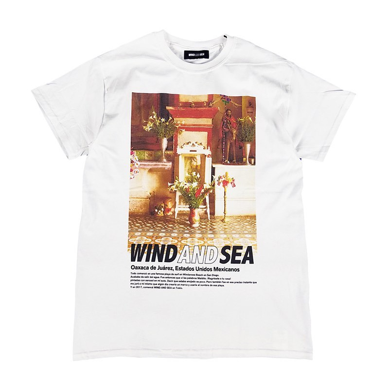 WIND AND SEA ウィンダンシー WDS SANTA CRUZ Tee ホワイト WDS-20S-CS-05