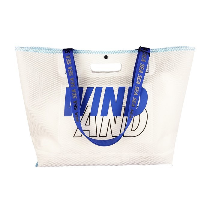WIND AND SEA ウィンダンシー WDSxWEEKEND(ER) TEX toto bag ブルー WDS-20S-GD-12